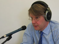 Dr.Han van de Braak on the air